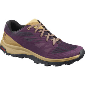 Salomon Outline Schoenen Dames, potent purple/bistre/taos taupe